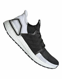 2b226cefa6f Details about Adidas Ultra boost 19 Men's Size 12 Core Black Gray Gray  Black Top