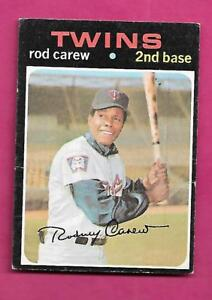 1971-TOPPS-210-TWINS-ROD-CAREW-CREASED-CARD-INV-A8111