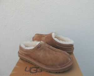 d34c10f9600 Details about UGG NEUMAN CHESTNUT SUEDE/ SHEEPSKIN SLIPPERS SHOES, MEN US  10/ EUR 43 ~ NIB