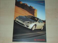62653) Toyota Celica Zubehör Prospekt 12/2002