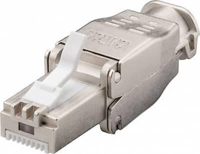 odedo/® 4er Set CAT 6 RJ45 LAN Verbinder Netzwerk Kabel geschirmt Metall Patch Kupplung Cat6 Inline-Coupler STP