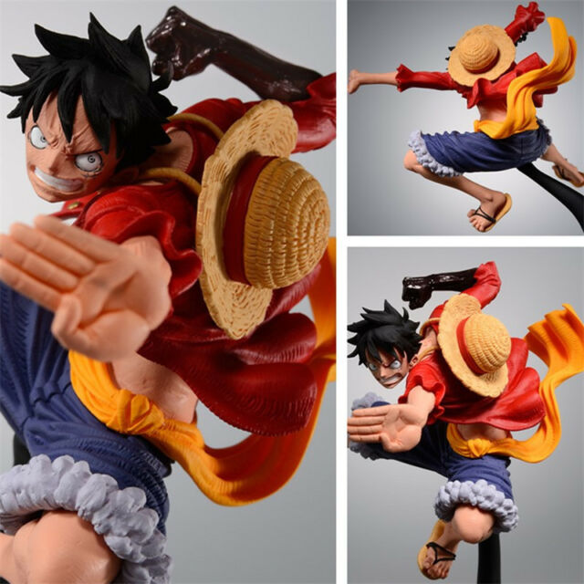 One Piece Monkey D Luffy SC Top War 6 2nd Anime Collection Figure New No Box