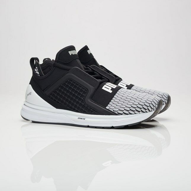 Puma Ignite Limitless Coloreeblock 189781-01 nero Uomo Dimensiones NEW 100% 100% 100% Authentic 5c45bd