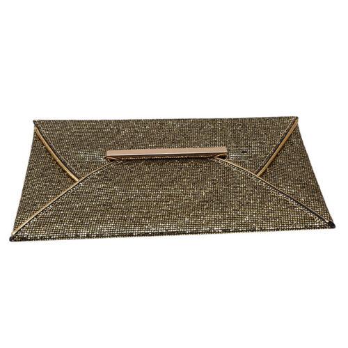 Women Glitter Clutch Handbag Evening Party Wallet Purse Envelope Bag Jian