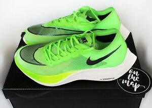 Details about Nike Zoom X Vaporfly Next% Neon Electric Green Black UK 10.5  US 11.5 New