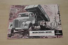 178548) Mercedes LKW Typ L 3500 K Prospekt 05/1953