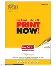 100 Sheet Desmat,ODDY A4 label Sticker Paper ST10A4100,10 Label/Sheet 99.1x57mm