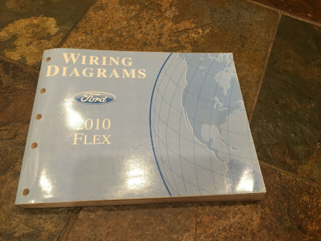 2010 Ford Flex Wiring Diagrams Electrical Service Manual