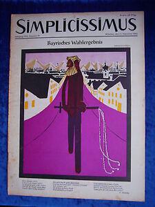 """""""simplicissimus-vol-nº 10 Du 11. Décembre 1954""""-s - Heft-nr. 10 Vom 11. Dezember 1954"""" Fr-fr Afficher Le Titre D'origine"""