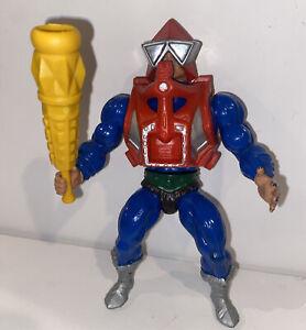 Vintage He-Man MOTU Mekaneck Action Figure Masters of the Universe 1983 Neck