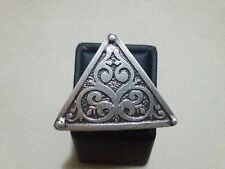 Turkish Made Silver Plated Ajustable Ring SR002