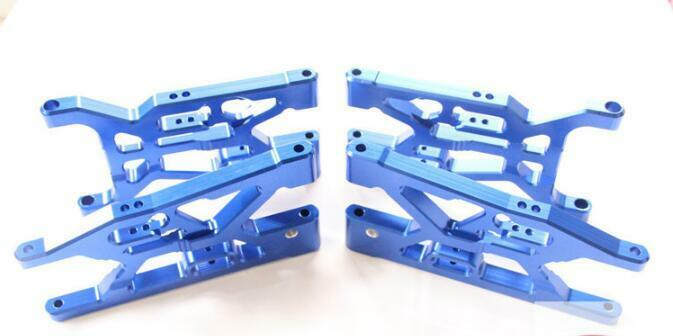 CNC tuttioy 2pcs davanti + 2pcs rear suspension  arm for Losi 5ive-t Rovan LT 1 5 rc  acquisto limitato