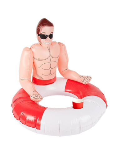 Inflatable Accessory Pool Float Drink Holder Fancy Dress Party Prop Decoration