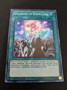 Spellbook of Knowledge INCH-EN059 Super Rare 1st NM Yugioh
