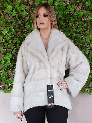 Pearl Mink Fur Coat Full Skin mexa