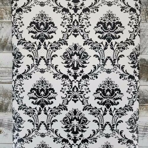 Traditional Damask Victorian Vintage Wallpaper Old World Cottage