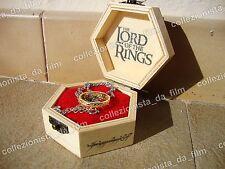Signore degli Anelli UNICO ANELLO Collezione Lord of the Rings Frodo Regalo
