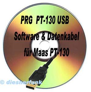 Chargement De Limage MAAS PRG PT 130 Software CD Amp Datenkabel