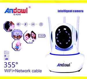TELECAMERA-IP-CAM-WIFI-HD-1080P-WIRELESS-LED-3-ANTENNE-5-0MP-MOTORIZZATA-CARECAM