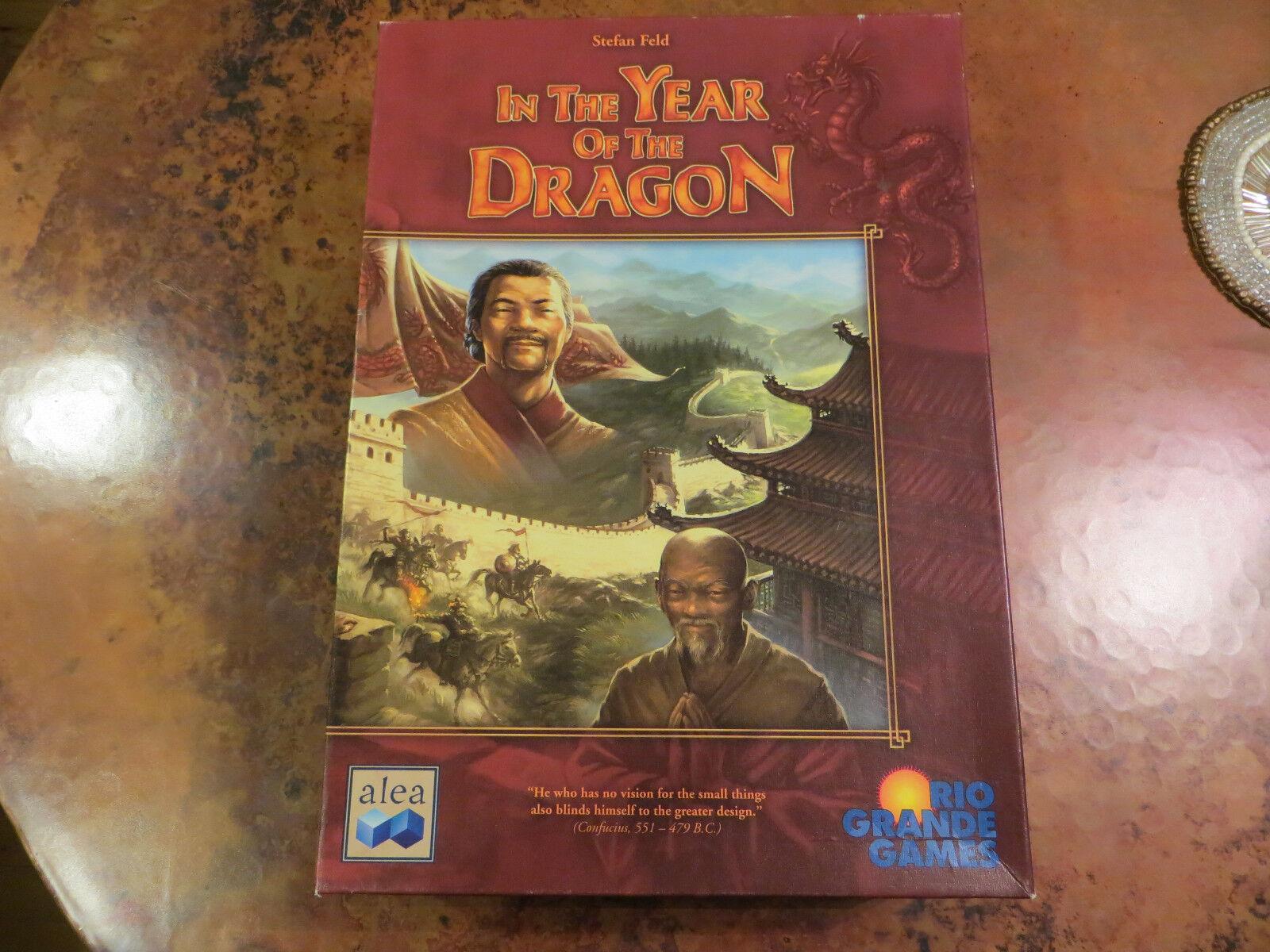 En el año del Dragón juego de mesa-Stefan Feld-por juegos de Rio Grande Ala