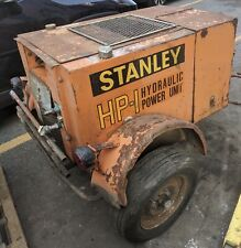 Stanley Hydraulic Pump Trailer Mounted Hp 1 Compact Power Unit