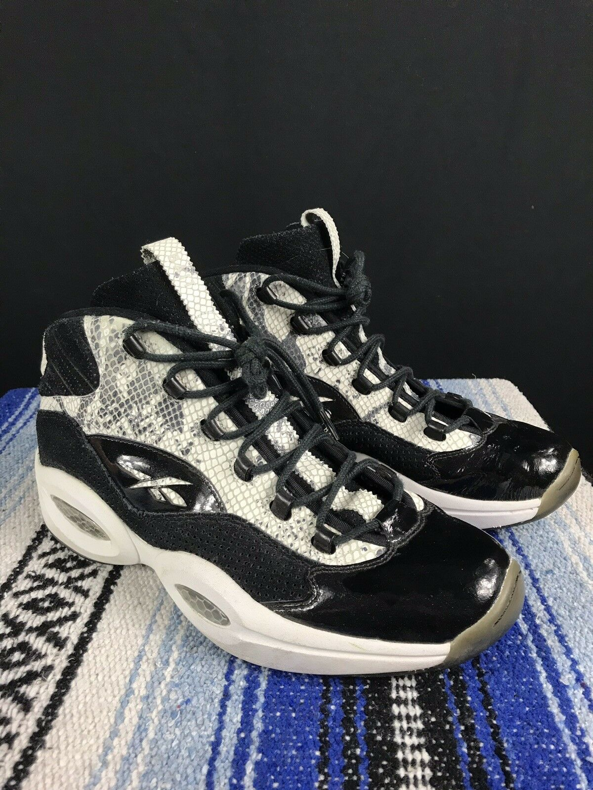 BAIT x Reebok Question Mid 2.0 2.0 2.0 Snake Skin Dimensione 13 Iverson snakeskin Samples 7f687a