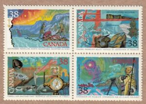 Exploration-of-Canada-Franklin-Stefansson-Tyrrell-MNH-VF-1989-1236a-q01
