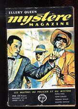 MYSTERE-MAGAZINE n°137 John COLLIER  Thomas WALSH  G.H. COXE juin 1959 OPTA
