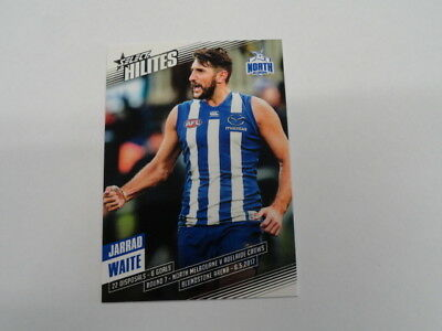 Australian Football Cards 2017 Afl Select Hilites Card Sh7 Jarrad Waite North Melbourne 241/326 To Clear Out Annoyance And Quench Thirst