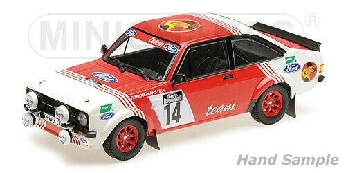 Minichamps - FORD RS 1800 DROOGMANS 3RD PLACE LOTTO HASPENGOUWRALLY 1983 1 18
