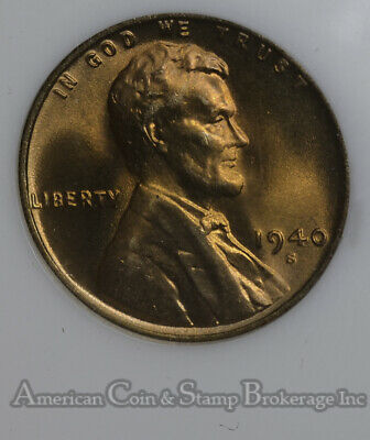 NGC MS66RD 1940-S Lincoln Cent