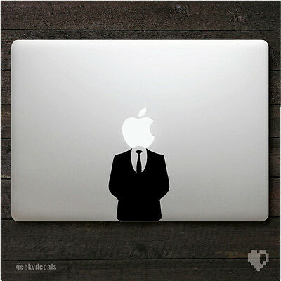 Suit Man Macbook Decal / Macbook Sticker