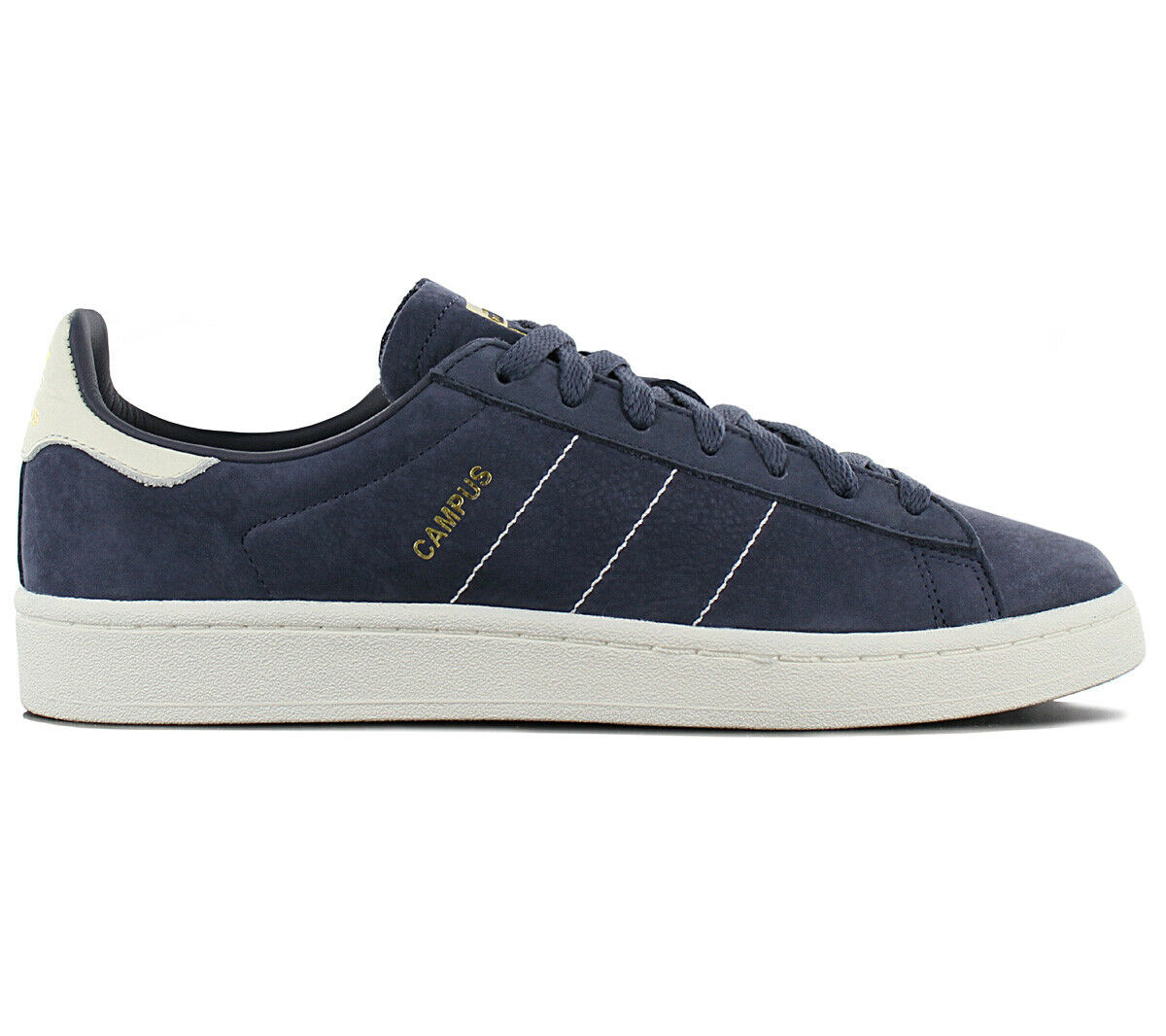 Adidas Originals Campus Sneaker shoes men Cq2047 pelle blue da Ginnastica Nuove
