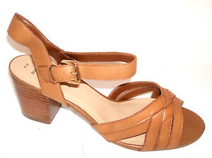43 42 WIDE FIT TAN REAL LEATHER SANDALS