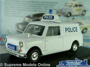 MORRIS MINI MODEL POLICE VAN AYRSHIRE 1:43 SCALE VANGUARDS VA01419 AUSTIN K8