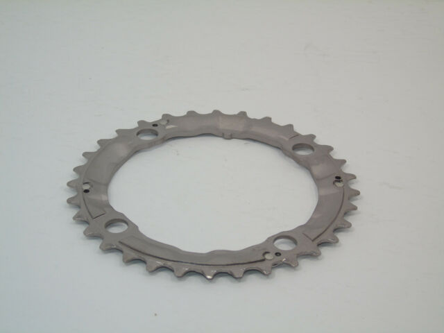 Nos Shimano LX Chainring, 32t, Aluminum, 9 Speed, 104mm BCD, Brand New Take-Off