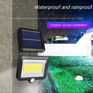 100-Lampe-Solaire-LED-avec-Detecteur-de-Mouvement-Spots-Applique-Murale