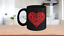 Red-Hot-Heart-Mug-Black-Coffee-Cup-Funny-Gift-for-Wedding-Shower-Anniversary miniature 1