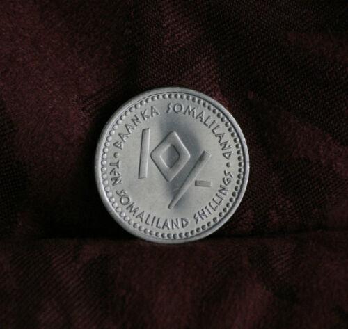 Somaliland 2006 Unc World Coin 10 Shilling Astrology Zodiac Virgo Virgin Maiden