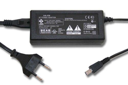 Fuente de alimentación-adaptador para Samsung vp-dx100i vp-dx105i vp-dx200 I