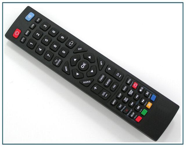 Ersatz Fernbedienung für Blaupunkt LCD LED 3D TV | BLA-32/189N-GB-5B-1HBQKUP-DE