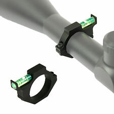 """Rifle Scope Spirit Bubble Level with 25.4mm 1"""" Ring Mount Holder"""