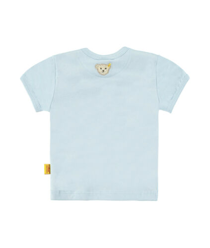/%/% STEIFF Newborn Little Star shirt Bärchengesicht hellblau Gr.56-62 NEU /%/%
