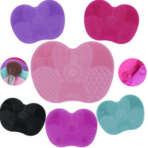 MakeUp-Washing-Brush-Cleaner-Pad-Mat-Gel-Scrubber-Board-Cosmetic-Cleaning-Tool