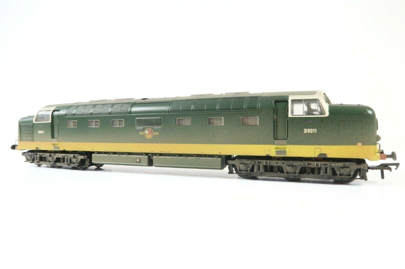 BACHuomoN OO GAUGE 32529B classe 55 DIESEL D9011 BR TWO TONE verde WEATHErosso