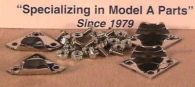 Ford Model A Hood Hinge Rod Set Stainless Steel 1928-1929