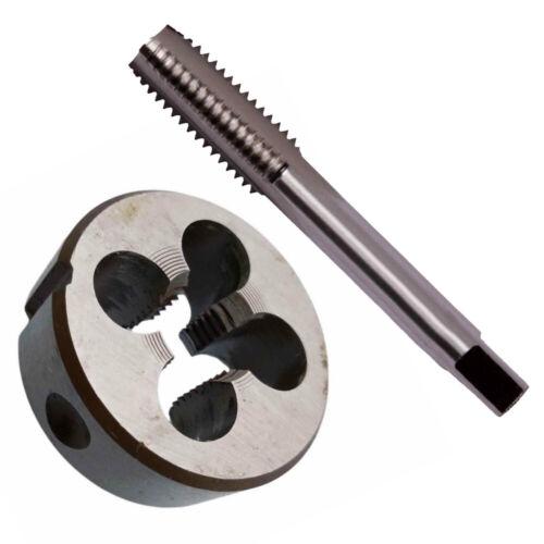 HSS M13 X 1.25mm Gewindebohrer Schneideisen Recht Hand Tap /& Die Metric Thread