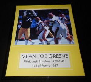 Mean-Joe-Greene-Steelers-Framed-11x14-Photo-Display