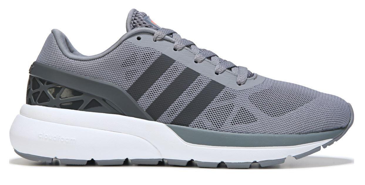 New Adidas Cloudfoam Flow AW4387 Sneaker, GREY, size 8