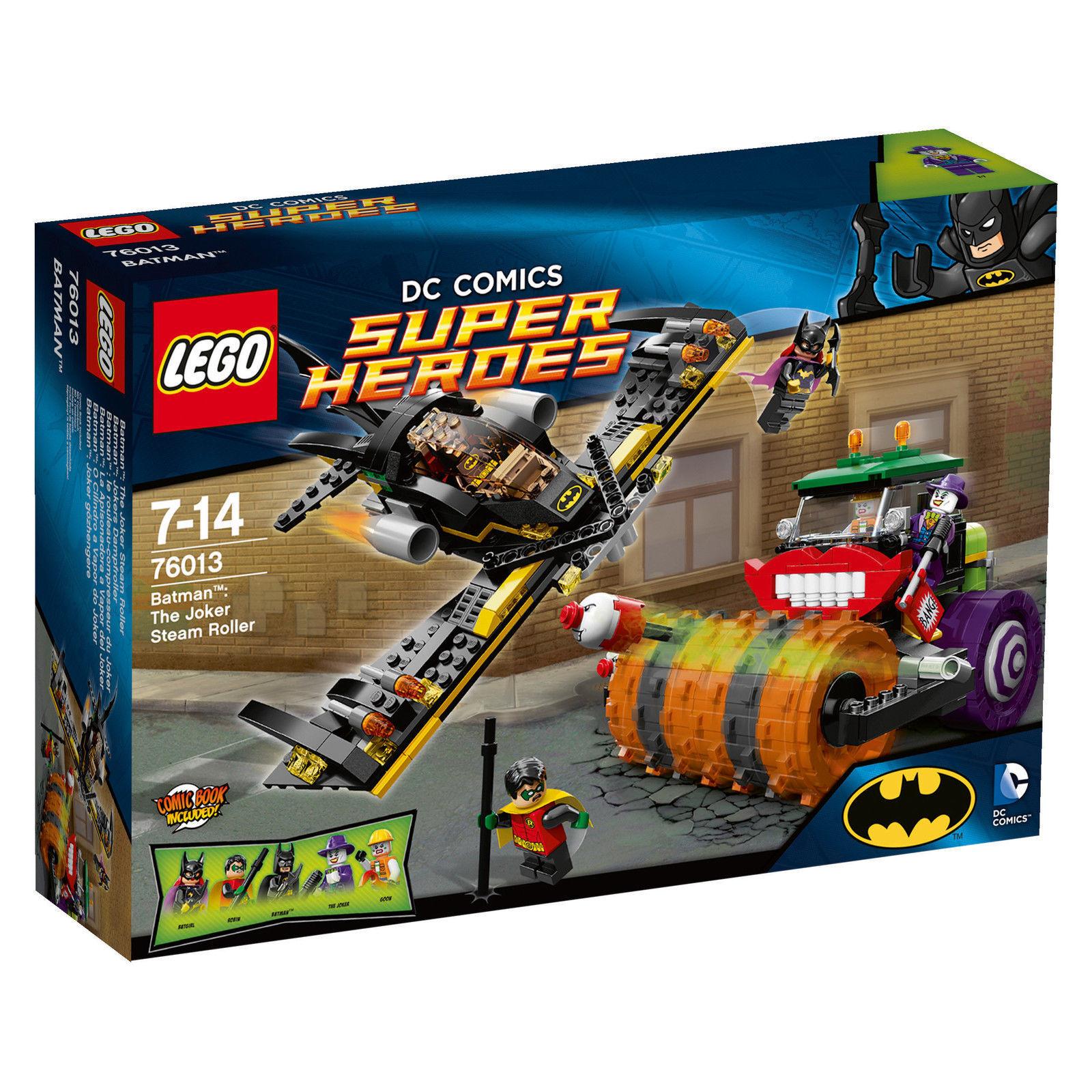 LEGO ®  76013 DC Comics Super Heroes Batuomo The Joker Ssquadra Roller Nuovo OVP nuovo  bellissima